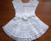 Crochet dress. Pattern No 80