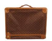 Louis Vuitton Luggage Vintage 1970s Suit Case Large Bag