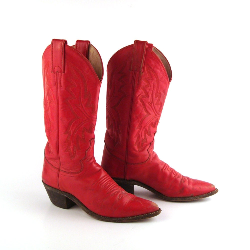 Unique 5 Best Red Cowboy Boots For Women Of 2018 - Red Boots