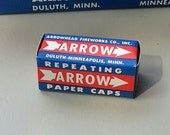 2 Boxes 1960s-70s Arrow Repeating Paper Caps