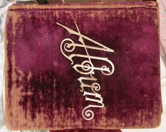 METALLICA 2 Burgundy Velvet Photo Album