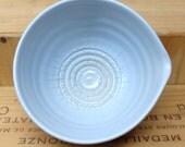 Famous Garlic Puree Dish in Palest Blue Celadon Glaze