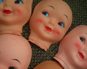 Vintage Doll face Mask