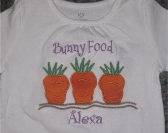Easter Food Bunny Carrot Truck Custom Personalized Truck