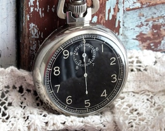 Antique Elgin World War II Military Issue Stop Watch by avintageobsession on etsy...20% Discount