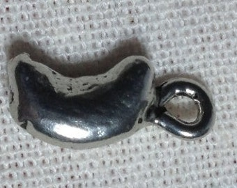 Pewter Human Kidney Charm