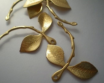 4 large leaf branch connectors