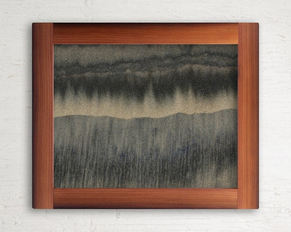 Reclaimed Wood Frame // 11 x 14 // Redwood from Leather Tanning Vats // Limited Edition