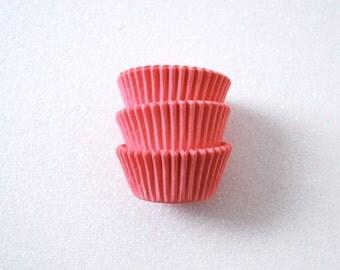 Mini Pastel Pink Cupcake Liners (50)