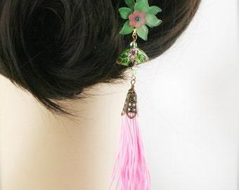 Shan blossom hair fork (HF)