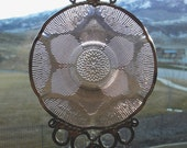 Fortecrisa Flower- Vintage saucer upcycled into a Windchime