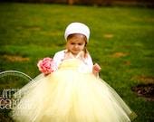 Sweet Yellow Tutu Dress