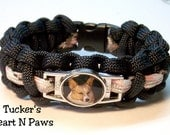 Paracord Bracelet Personalized With Photo