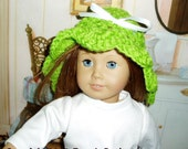 Doll Summer Cloche Hats PDF Crochet Pattern Fits 18 inch American Girl Dolls DIY Okay to sell finished items  Instant Download