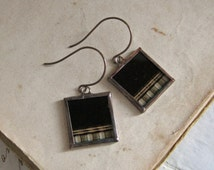 Movie Film Repurposed Earrings One of a Kind Jewelry