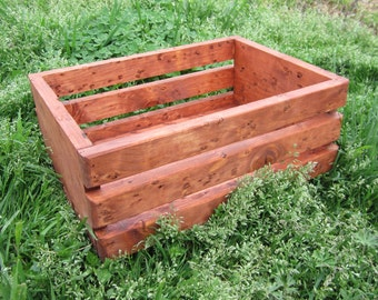 Wood Crate Storage - Stackable Crates - Organize
