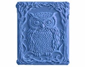 Owl Soaps - Decorative  Soaps   - Spring Summer Soaps -  Glycerin Soaps - Natural Soaps - Moisturizing Soaps  -  Fragrance Oil Coconut Cream