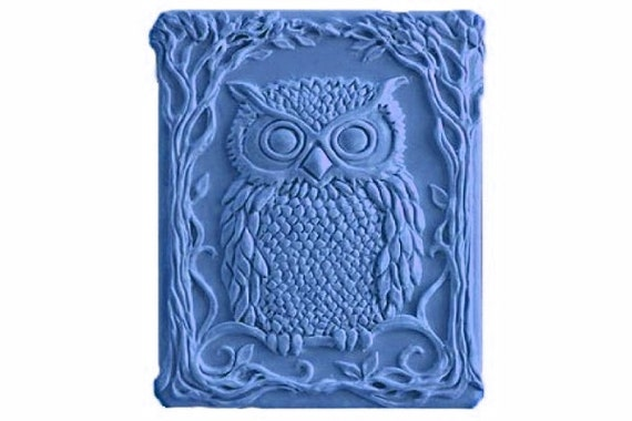 Owl Soaps - Decorative  Soaps   - Spring Summer Soaps -  Glycerin Soaps - Natural Soaps - Moisturizing Soaps  -  Fragrance Oil Coconut Cream