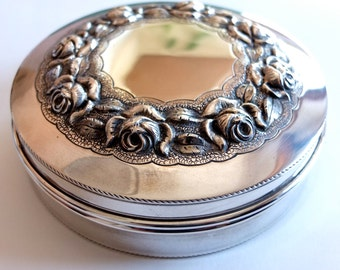 Wonderful Sterling Silver Box