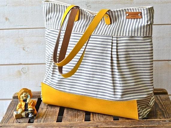 WATER PROOF Best Seller Diaper bag / Messenger bag / Nautical