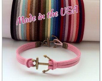 Anchor Bracelet, Friendship Bracelet, Charm Bracelet