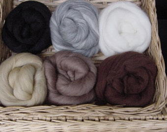 Merino Wool Pallettes - For Needle or Wet Feltiing