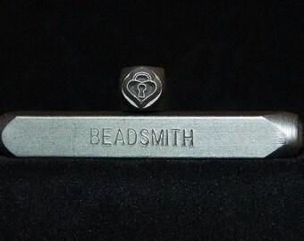 Metal Design Stamp By Beadsmith 6mm Padlock