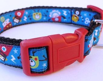 RoboDog - Dog Collar / Pet Accessories / Adjustable / Handmade