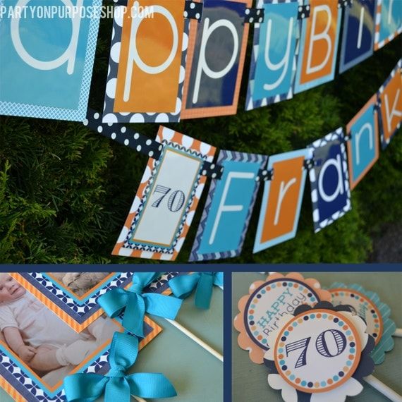 Adult birthday party decorations package fully assembled for 50th birthday decoration packages
