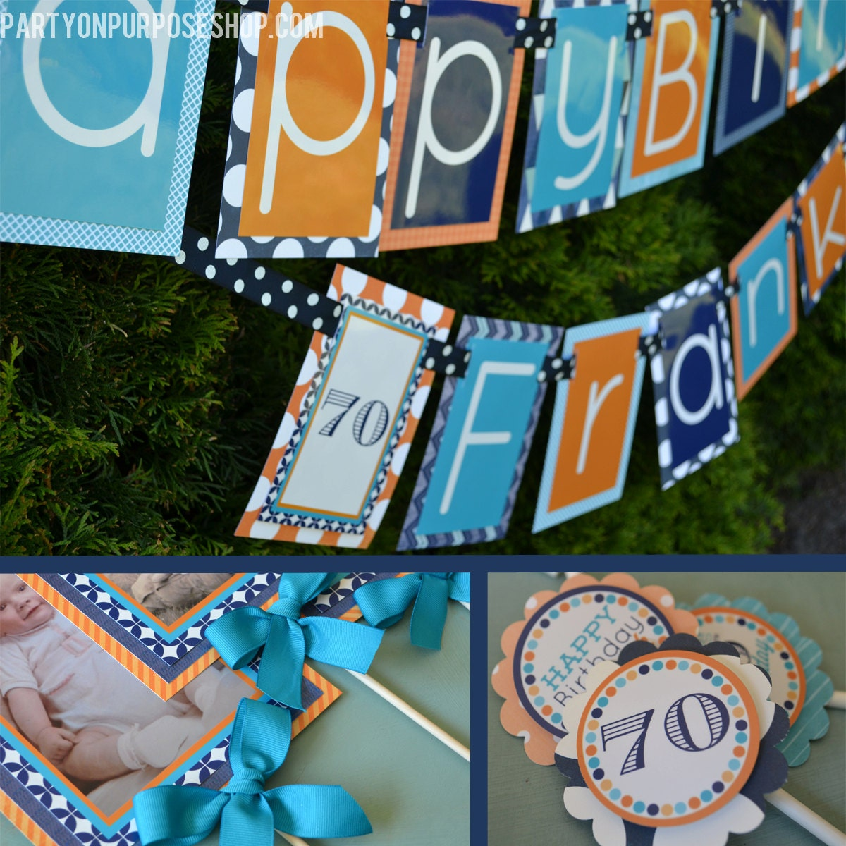 Adult birthday party decorations package fully assembled for 30th birthday decoration packages