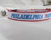 Philadelphia 76ers Cat  or Small Dog Collar