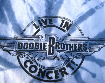 XL Gift It  1991 DOOBIE BROTHERS / Joe Walsh of Eagles concert, music, band t-shirt 91 / 1991