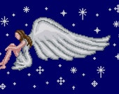 Just an Angel Cross Stitch Pattern