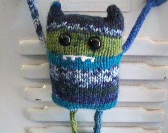 Carl the Locker Monster PDF Knitting Pattern