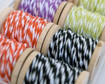 Baker's Twine Halloween Color Combination Kit II - 40 Yards - Four Colors