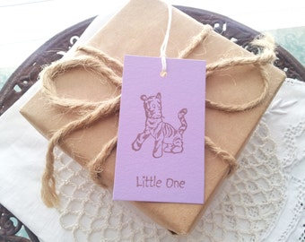 Winnie the Pooh Tags Tigger Baby Shower Favor Gift Tags Set of 10