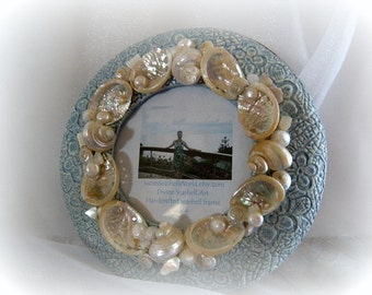 Coastal Dreams Seashell Frame