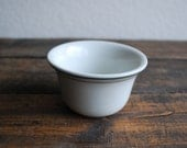 Hall Custard cup Ironstone bowl Ironstone  Dessert White shabby chic Country Living