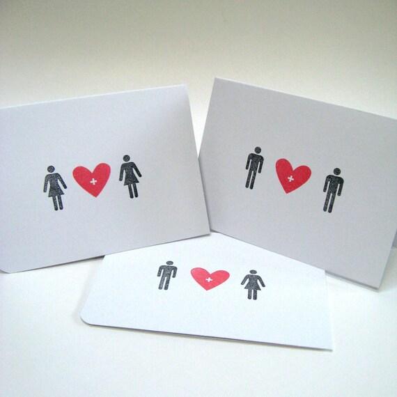 Valentines Day Card - Happy Valentines Day - Icon - Alternative Valentines Cards - Be My Valentine Card - Handmade Valentine Greetings