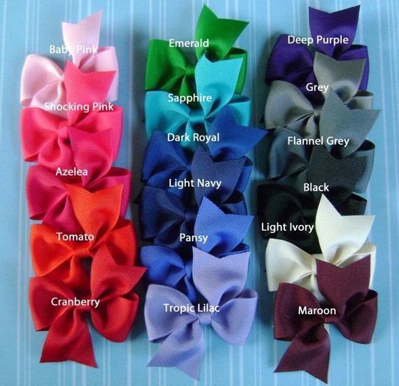 Pinwheel Hairbow You Pick 20 Pinwheel Hair Bows