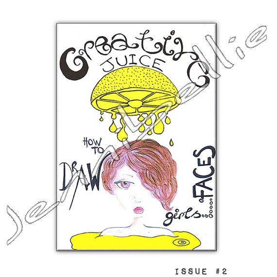 My Creative Juice Zines Are Back!!