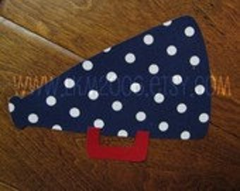 Megaphone Iron On Applique, Add An Initial for Free, You Chooose Fabric