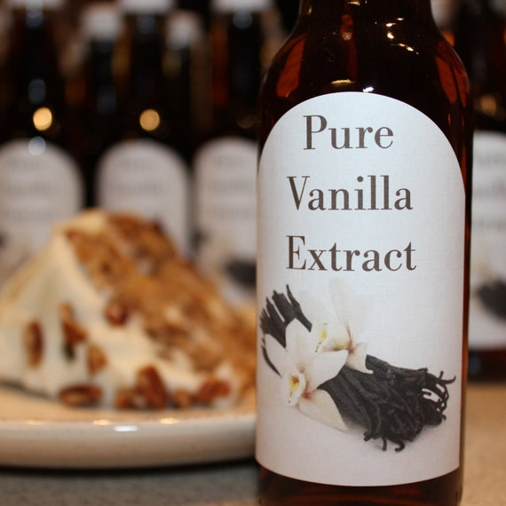 Homemade THREE Bean Pure Endless Vanilla Extract- Large 5 ounces.