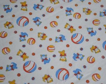 RJR Kitchen Sink Fabric - Retro Kittens and Balls - 45 x 29