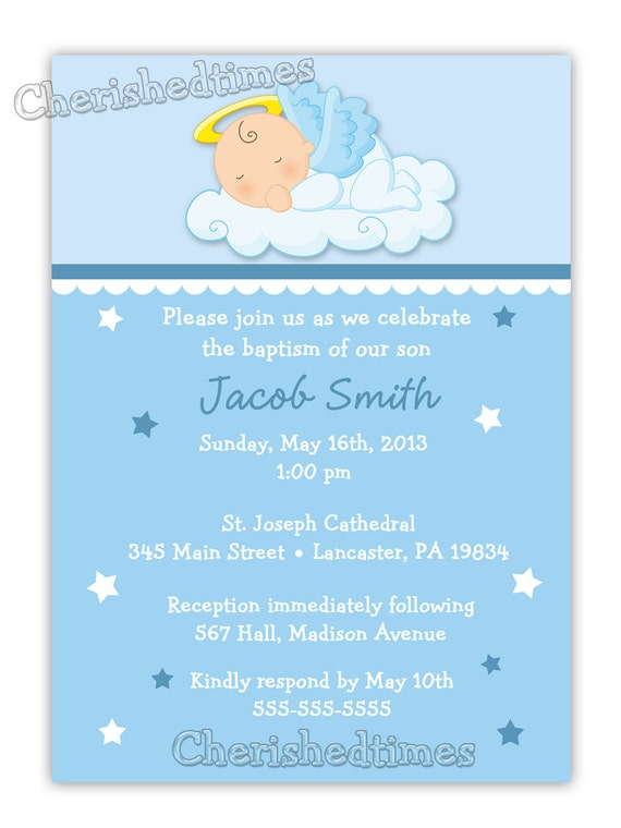 Baptism Wording Invitations as adorable invitation ideas