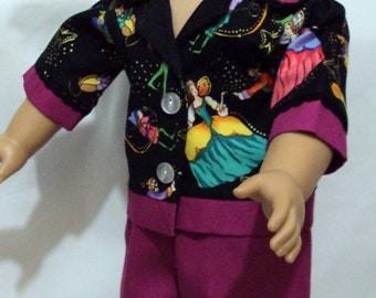 SALE SALE American girl  fairy Pajamas  or other 18 inch dolls