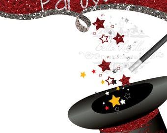 Magic Birthday Party Etsy