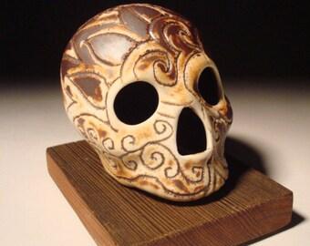Festive Iron Skull