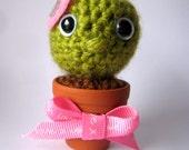 Amigurumi Valentine's Cactus