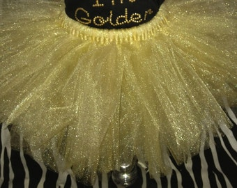 party favor 10 pack-- gold tutus sizes nb-5t